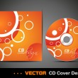 CD Cover design. — Stok Vektör #9940349