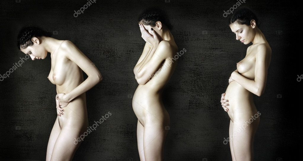 Schwangere Frauen An und Ausgezogen - Bilder und Foto Galerie