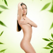 Naked beauty woman — Stock Photo