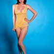 Yellow lingerie — Stock Photo #8446385