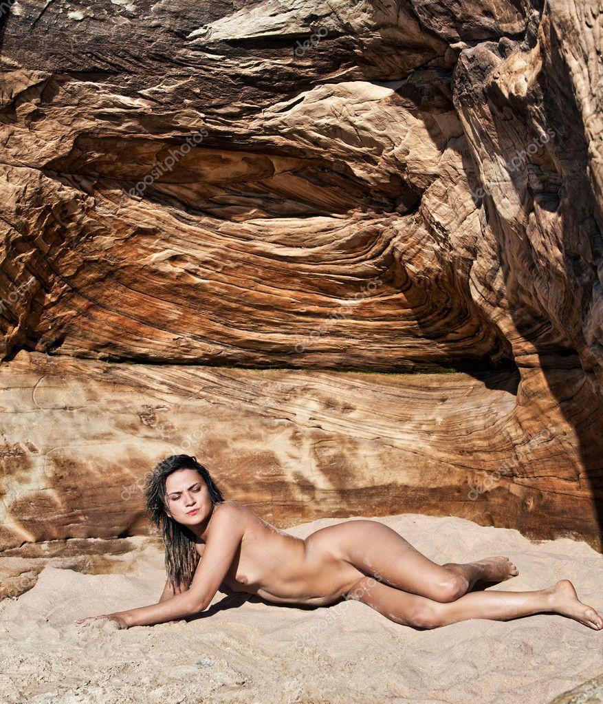 sand naked