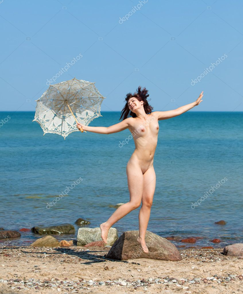 Naked Women Jumping 62