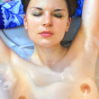 Stock Photo: Woman in bath