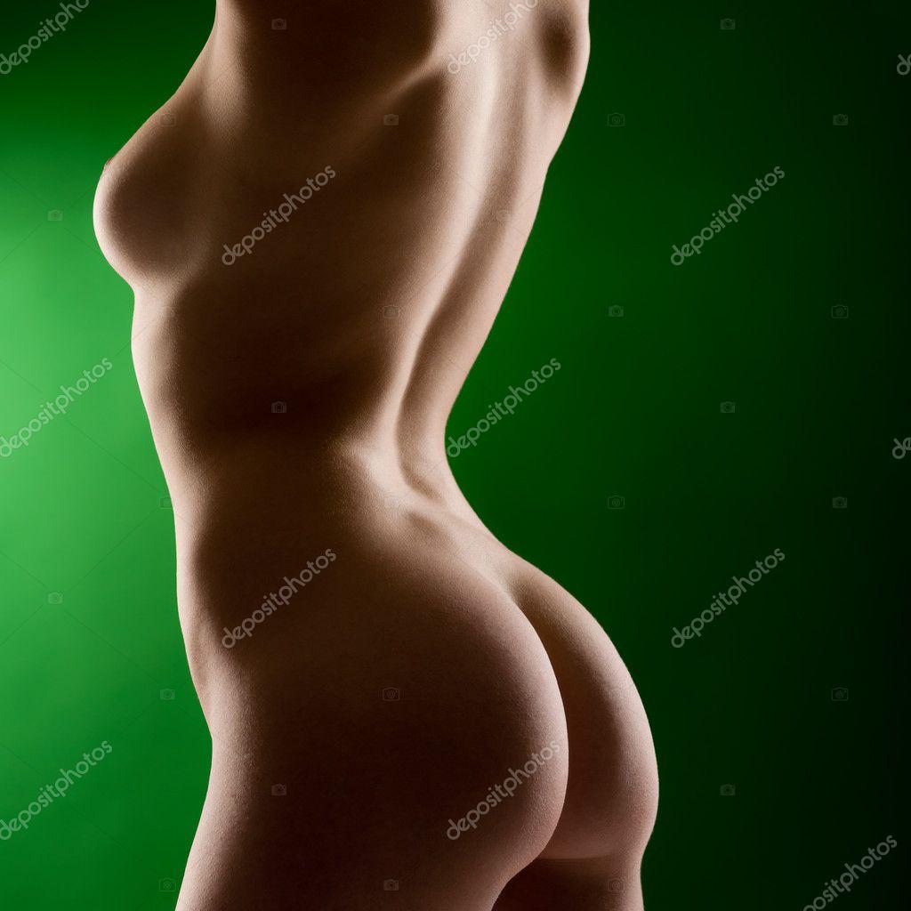 Фото голых женщин сбоку 27 фотография