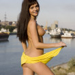 Pretty naked girl — Stock Photo