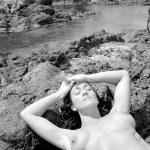 Sexy nude woman. — Stock Photo