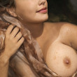 Pretty nude woman. — Stock Photo