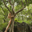 Nude woman in nature. — Stock Photo #9614246