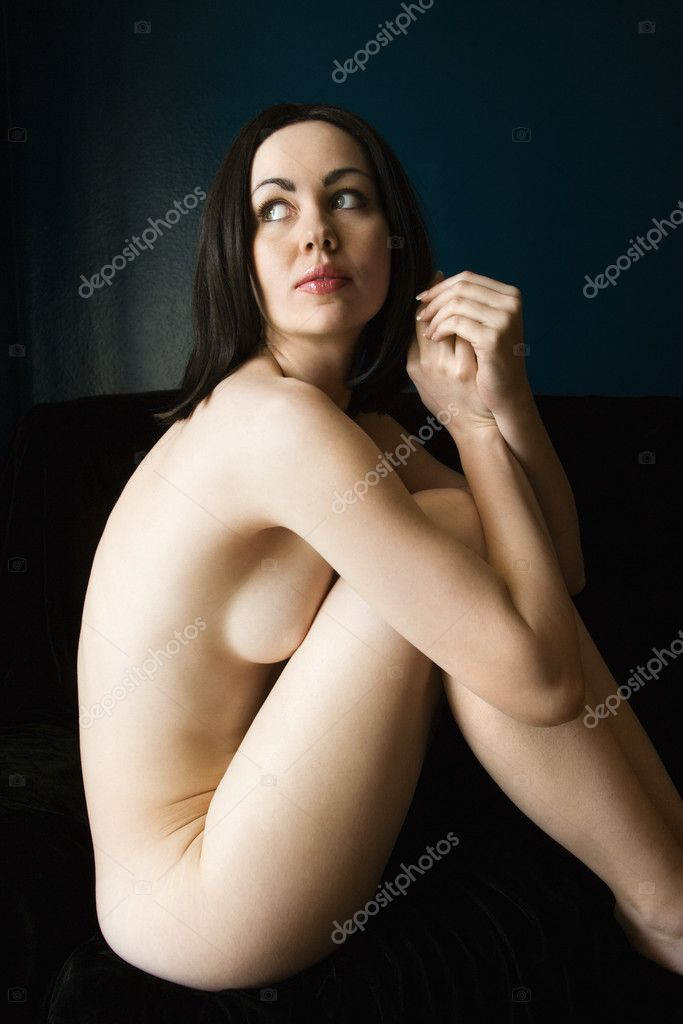 Nude Woman Sitting