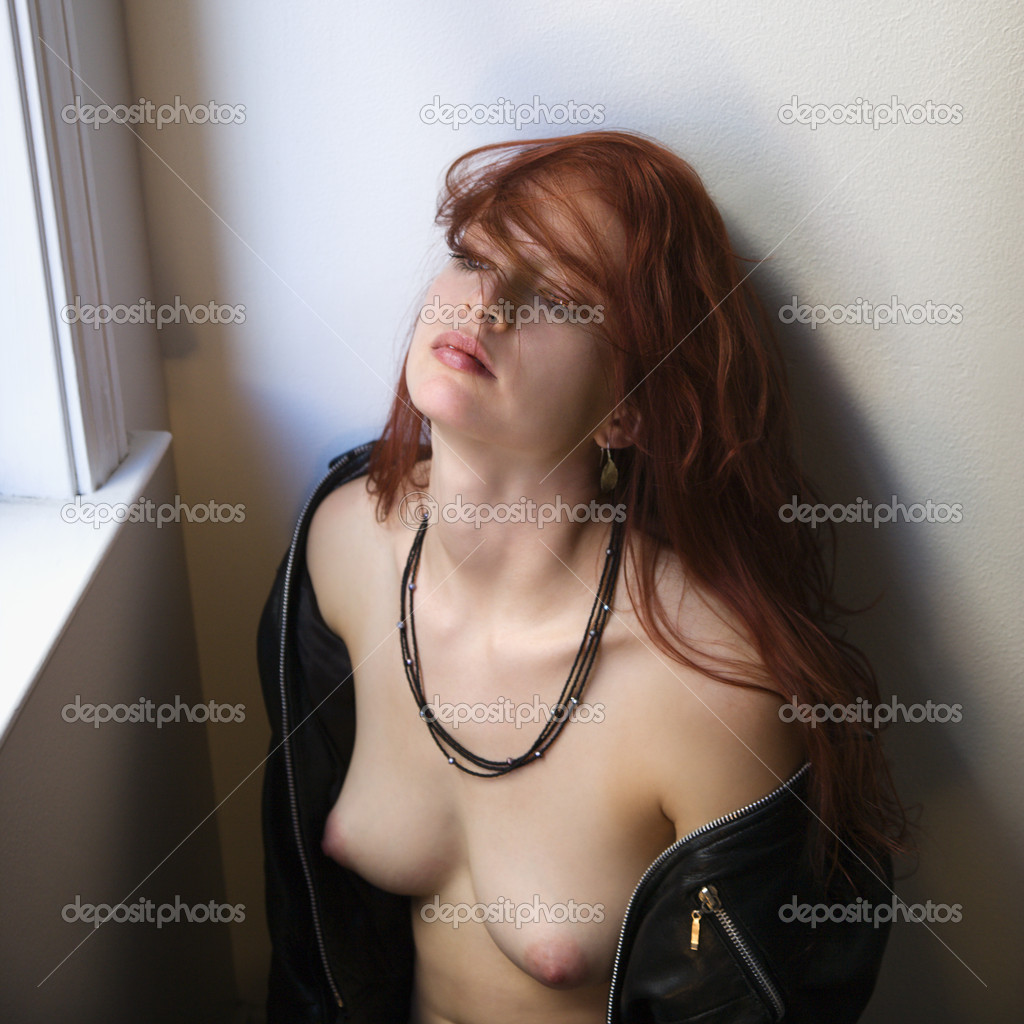 Partially nude red heads