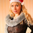 Stock Photo: Xmas girl